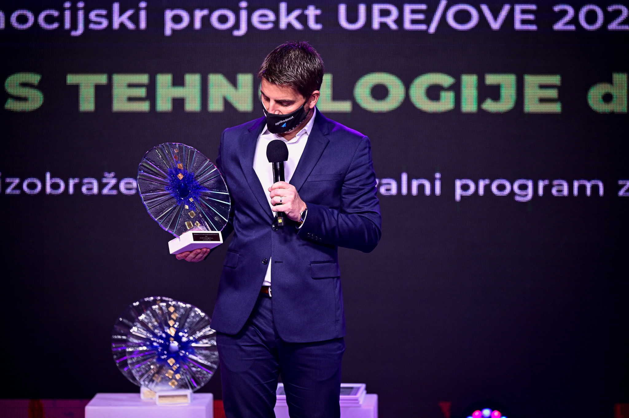 22. Dnevi energetikov, podelitev nagrad; Maribor, Slovenija 19.11.2020 Foto: Jure Makovec / Finance